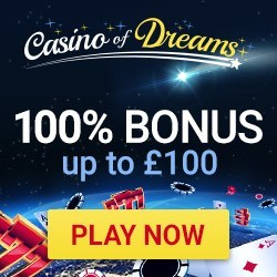 Dreams casino 100 free