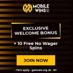 Mobile Wins Casino Free Spins